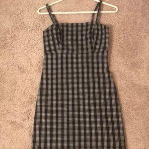 hollister plaid dress